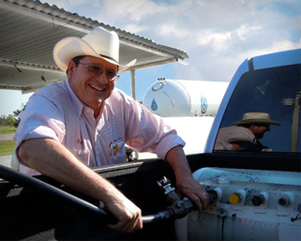 Propane's Excellent Adventure A propane-powered pickup made history for Oklahoma's propane industry as it traveled from New York to San Francisco...